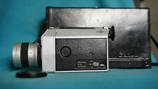 Canon Auto Zoom 814 Super 8 Camera 7.5-60mm f1.4 with Case - Tested and working