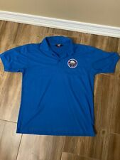 Toronto SkyDome Polo Golf Shirt Large Blue Jays Argos Argonauts Rogers Centre