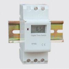 Arcas Tages Zeitschaltuhr Mechanisch Analog 30min Beleuchtung 3600W Weiß Indoor