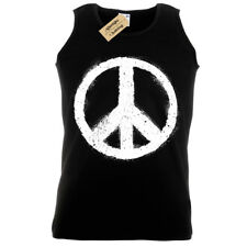 PEACE SYMBOL Tank Top Mens sign world vest top nature love harmony yin yang