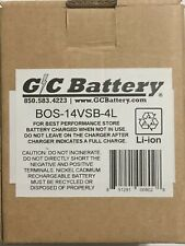 New G/C Battery BOS-14VSB-4L Lithium Ion Battery (works w/Bosch Chargers)