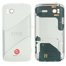 Original HTC Sensation G14 G18 Akku Deckel Gehäuse Cover weiß silber