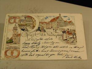 Gruss aus Stuttgart, Germany Postcard 1/17/21