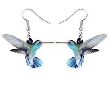 Lightweight Acrylic Hummingbird Earrings