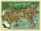 True South Puzzle Co., Discover the States Series, The Grand South, 500 Pieces