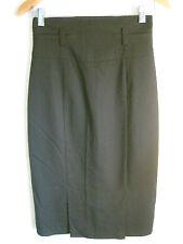 Cue Size 8 Black Semi-Formal Straight Skirt