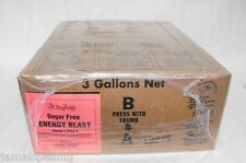3 Gal Bib Diet Premium Energy Drink Sugar Free Syrup For Soda Guns Amp Fountains