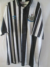 Newcastle United 1990-1991 Home Football Shirt Size XL /8093
