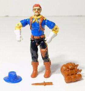 "WILD BILL v2 - Vintage GI Joe 3.75"" Action Figure - Hasbro 1992 + Accessories"