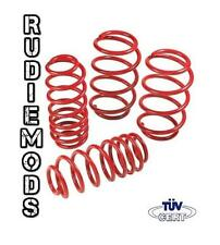 RM Lowering Springs VW Golf Cabriolet MK1 78-93 1.1 1.3 1.5 1.6 1.8 GTi 60/40mm
