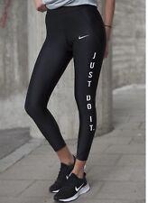 Nike velocidad JDI ajuste apretado 7/8 longitud Running Mallas 923452-010 Negro Talla M Nueva