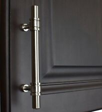 "4340-96-SN - 3-3/4"" Solid Steel Ring Cabinet Bar Pull Handle Satin Nickel"
