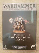 Warhammer 40k Space Marines Terminator Chaplain Tarentus Limited Edition NiB