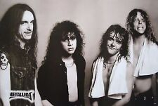 "METALLICA ""YOUNG BAND SHOT WITH CLIFF BURTON"" POSTER FROM ASIA-Heavy Metal Music"