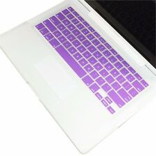 "FULL PURPLE Silicone Keyboard Skin Cover for Old Macbook White 13"" (A1181)"