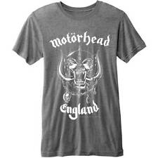 Official T Shirt MOTORHEAD England  Distressed Burnout Logo ''''''''''''''''''''