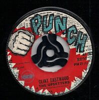 """THE UPSETTERS-Clint Eastwood/ Lenox Mood/PUNCH Label/Lee """"Scratch"""" Perry-K6-7"""