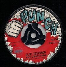 "THE UPSETTERS-Clint Eastwood/ Lenox Mood/PUNCH Label/Lee ""Scratch"" Perry-K6-7"
