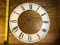 """NOS 8"""" Metal Clock Chapter Ring   (Lot K649)"""