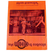 THE WHO 1973-74 UK TOUR CONCERT PROGRAMME