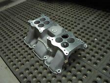 NOS Offy Offenhauser Buick 401 425 nailhead dual 4 quad four carburetor intake
