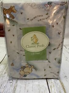 Winnie The Pooh Fitted Crib Sheet Classic Pooh New Never Open