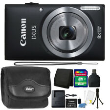 Canon IXUS 185 / ELPH 180 20MP Digital Camera with 8GB Top Accessory Kit