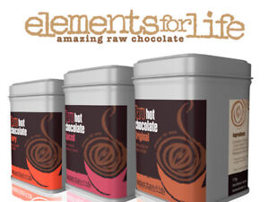EFL Raw Nutrition Delicious Original Hot Chocolate -Vegan Friendly