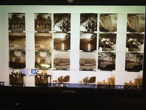 Photos Sur Verre Stéréoscope Lot De 12 Plaques France Et Étrangers, Tbe