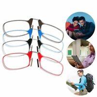 Portable Mini Nose Clip Reading Glasses Magnifier Optics Presbyopic 1.0 2.0 3.0