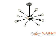 Sputnik Atomic Lamp Light Chandelier Chrome Mid Century Modern Eames