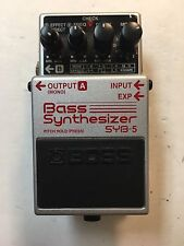 Boss Roland SYB-5 Bass Synthesizer Synth 2009 Guitar Effect Pedal SYB5