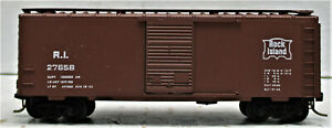 KADEE 20058 (Blue Label 1975) ROCK ISLAND 40' Box Car,  #27658 N SCALE
