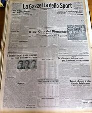 GAZZETTA DELLO SPORT  1942  ATALANTA