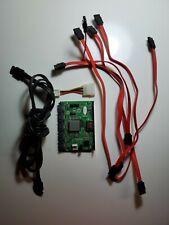 5 Port SATA RAID Controller Card, 1 eSATA port + Cables