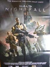 Mega A1 POSTER / FILM-/GAME-PLAKAT: HALO - Nightfall by Ridley Scott / Microsoft
