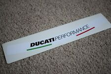 Ducati Performance Visor Helmet Sunstrip Racing Motorbike Bike Decal Sticker W