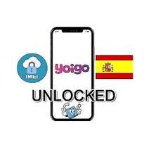 Liberar Yoigo España Unlock Spain iPhone 3,4,5,6,7,8,X,XR,Xs,Xs Max plus
