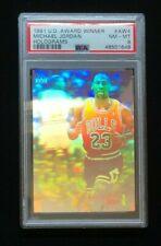 1991 Upper Deck Basketball Michael Jordan Award Winner #AW4 Insert PSA 8 NM-MT