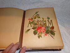 Antique Photograph Album with 47 Antique Photos, Lancaster, Pa. Pictures