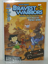 BRAVEST WARRIORS: TALES From the HOLO JOHN #1 - LootCrate Exclusive Variant LOOT