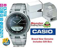 AUSSIE SELLER CASIO AW80 AW80D AW-80D-1AV DUALTIME TELEMEMO 12 MONTH WARANTY