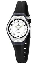 Calypso Woman Watch K5163/j Rubber Strap Black Color Diameter 34 Mm