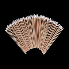 100pcs/lot 6 Inch Gun Cleaning Cotton Swabs,Large Tapered Swabs Gun Clean Brush^
