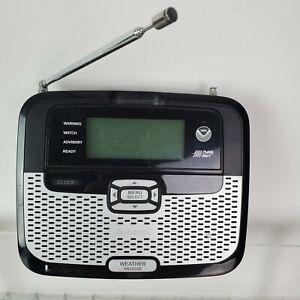 RadioShack Weather Radio 12-262 Same Weatheradio NOAA Weather  No AC Adapter