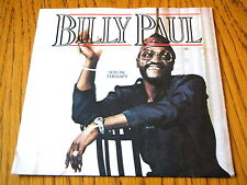 """BILLY PAUL - SEXUAL THERAPY  7"""" VINYL PS"""