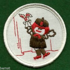 GIRL SCOUT TRY-IT BADGE - BROWNIE PRE TRY-ITS - PUPPETEER - FREE SHIPPING