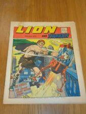 LION & THUNDER 26TH MAY 1973 BRITISH WEEKLY COMIC FLEETWAY^