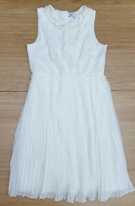 MARYLEBONE London Girls Stunning Ivory 11 - 12 Years Lined Evening Party Dress