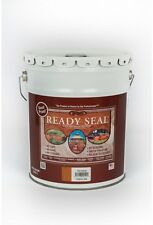 READY SEAL 5 gal. Redwood Exterior Wood Stain and Sealer, Deck, House, Concrete